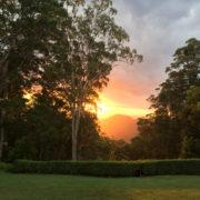 Mapleton Sunset